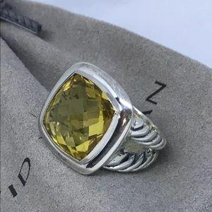 DAVID YURMAN 14mm Lemon Citrine Ring